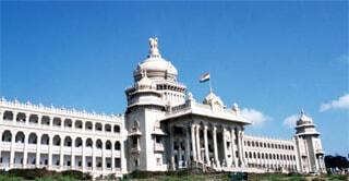Vidhana Souda, the seat of state legislature in Karnataka
